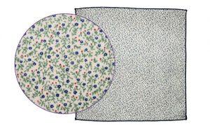 pochette de costume fleurs