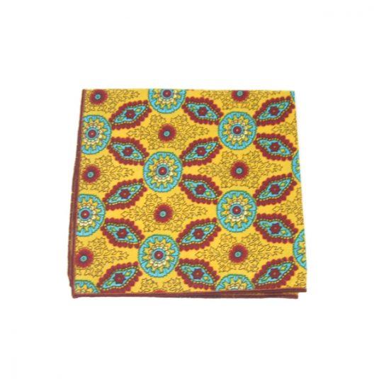 pochette de costume colorée